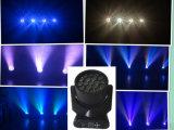 Best-Selling LEIDEN van de Straal 19LEDs*15W RGBW4in1 Hawkeye Bewegend HoofdLicht met Osram LEDs