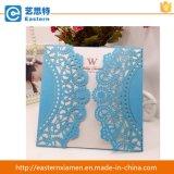 Карточка приглашения венчания карточки вырезывания лазера королевская