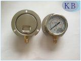 En837-1 manometer met de Olie van de Glycerine - gevulde Dia. 63mm