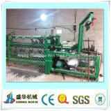 Hoge kwaliteit Semi-automatische Chain Link Fence Machine