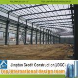 Almacén prefabricado Jdcc1037 de la fabricación y de la estructura de acero de Assembing