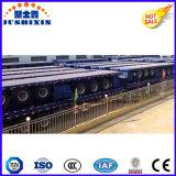 12500mm Flatbed Aanhangwagen van de Lengte 40FT voor de Container van de Carrier