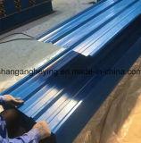 Toiture de toiture de Glor PPGI de matériau de construction/tuile d'onde