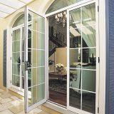 المزدوج الزجاج كسر الحرارية الألومنيوم البابية نافذة / ألمنيوم