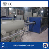 Ligne machine d'extrusion de pipe de PVC de plastique