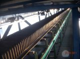 기계를 만드는 물결 모양 측벽 컨베이어 벨트