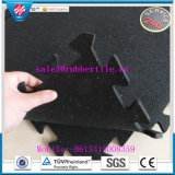 Outdoor Playground Rubber Floor Tile, Rubber Gym Flooring Mat