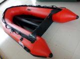 Opblaasbare Zee Boot (2.9m, rode kleur)