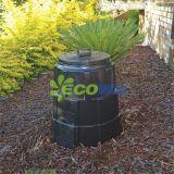 Coffre de compost portatif, coffre de compost de vis sans fin