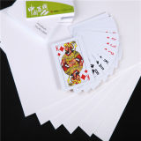 OffsetPrintable White PVC Sheet für Poker (PVC-PK)