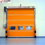 Industrial limpiar la puerta automática del obturador del sistema que se enclavija rápidamente
