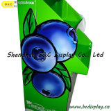 Fruta Cardboard Display Stand, Agricultural e Sideline Products Display (B&C-A080)
