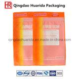 Bolso de empaquetado de la impresión de la ropa de encargo del PVC para el paño interno