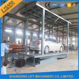 Levage automatique de véhicule de paquet de garage portatif hydraulique double avec du CE