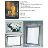 Gros vairous Taille LED Light Box Cristal
