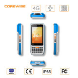 携帯用Capacitive Touch Screen Data Collection 1d Qr Code Barcode Scanner SIM Card