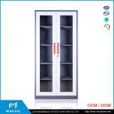 ルオヤンMingxiu 2のドアの実験室の鋼鉄ガラスドアの収納キャビネット/鋼鉄振動ドアのファイリングキャビネット