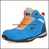 Zapatos de seguridad de los hombres de la alta calidad con la punta compuesta y Kevlar Midsole