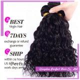 Пачки волос девственницы Brizilian оптовой продажи высокого качества двойной толщины