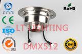 Порт поддержки DMX512 света фонтана наивысшей мощности СИД