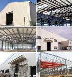 Taller ligero prefabricado de la estructura de acero que construye a Angola