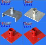 Grundplatte des Baugerüst-En74 (125*125*5mm)