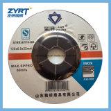 T27 Stainless-Steel를 위한 회전 숫돌 125X6X22 빨간 가는 디스크