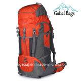 saco de acampamento de nylon impermeável ao ar livre profissional da trouxa dos esportes de 80L Moutain