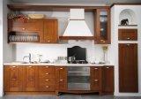 Welbom europäische Art-festes Holz-Küche-Schrank-Luxuxmöbel