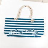 Grande sacchetto amichevole riutilizzabile su ordinazione promozionale della tela di canapa di corsa di Eco