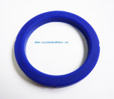 Gaxeta impermeável resistente ao calor lisa redonda quadrada retangular da borracha do silicone EPDM do produto comestível