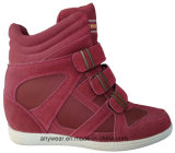Le confort en cuir de mode de femmes de la Chine initialise les chaussures (515-4692)