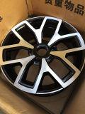 La rueda de la aleación Shinny la pieza del CNC del final del diamante de la pintura