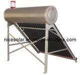 Não calefator de água solar da pressão (QAL-200L)