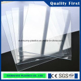검정과 Clear High Quality Rigid PVC Sheet
