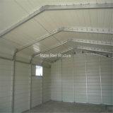 Costruzione professionale del metallo del garage della struttura d'acciaio