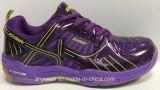 Chaussures professionnelles de cour de badminton pour les chaussures de dames de femmes (515-3284)