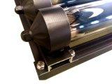 Câmaras de ar pretas do coletor solar 12 do vácuo da cor para o mercado de Japão