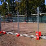 Galvanisierter Removeable Aufbau-temporärer Zaun/Australien-temporärer Zaun