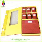 習慣のWindowsが付いている折るペーパー包装の茶ボックス