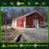 Almacén moderno prefabricado del bajo costo