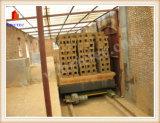 Horno de túnel encendido del ladrillo de la arcilla