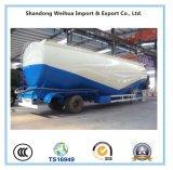 세 배 차축 판매를 위한 경량 대량 시멘트 트럭 트레일러 v 유형 탱크 트레일러