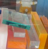 Painel acrílico do plexiglás para o tanque de peixes do aquário