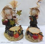 Polyresin Harvest Festival Decoração para casa (JN18)