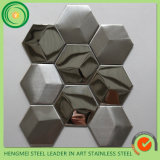 Prezzo List Offer 304 Hairline Stainless Steel Mosaic Tiles per Toilet Wall Decoration