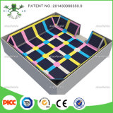 Sicurezza Huge Indoor Trampolines con Ball Pool, Foam Pit