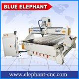 Funcionamiento de madera de la maquinaria industrial, alto precio móvil de la máquina del ranurador del CNC de la velocidad para las cabinas de cocina