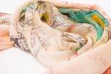 Großhandelsform Printedlong Silk Schal für Dame