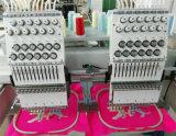 Máquina principal dobro computarizada do bordado da fábrica de máquina do bordado de Yuemei